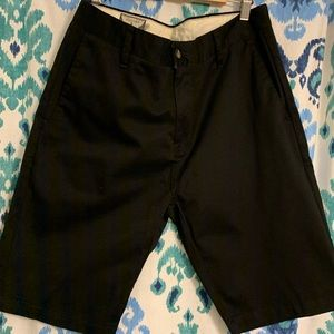Men's Volcom chino black shorts 31 waist